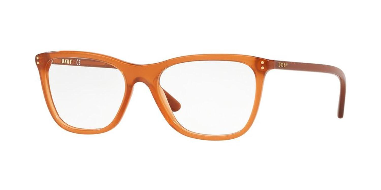 DKNY DY4695 Eyeglass Frames 3732-51 Transparent Amber DY4695-3732-51