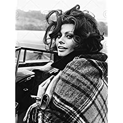 VINTAGE PHOTOGRAPHY ACTRESS SOPHIA LOREN SEXY STAR 18X24'' POSTER ART PRINT LV11301