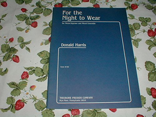 For the Night to Wear pdf epub