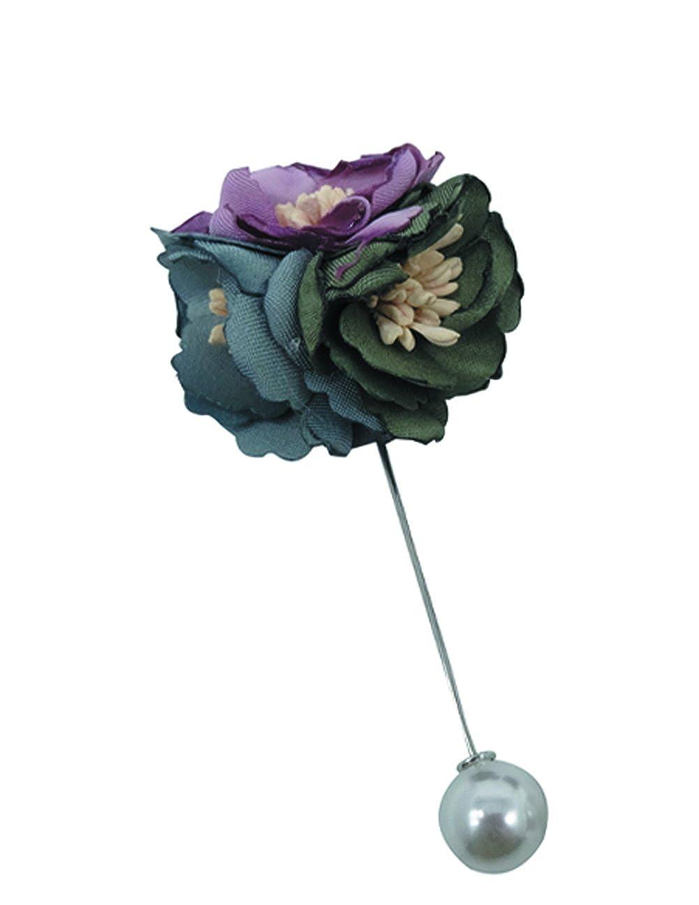 Tooky 2017/New Style fait /à la main Broche Fleur avec perle Mariage /Épinglette Clip Collier