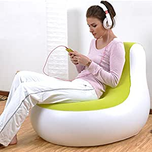 Inflatable Sofa Green Jungle Inflatable Chair