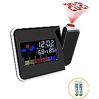 XIAOMEI Electrónico Digital Despertador de la proyección Snooze
