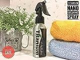 titanium oil dome - Brown Sugar Pet Store Paradise Pet Nano Titanium Cleaning Spray for Sugar Glider 100 ml.
