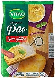 Mix Pão sem Glúten Tradicional Vitao