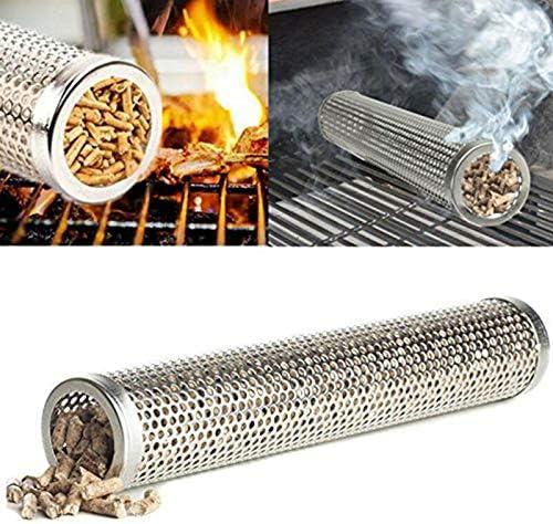 LACKINGONE Tubo generatore per Barbecue e affumicatore griglia a Freddo