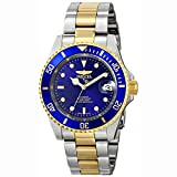 Watches : Invicta Men's 8928OB Pro Diver Gold Stainless Steel Two-Tone Automatic Watch