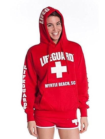 471561dd535b Amazon.com: LIFEGUARD Official Ladies Myrtle Beach Hoodie: Sports ...