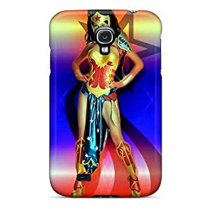 Protective Cell-phone Hard Cover For Samsung Galaxy S4 (HpE7831TLMS) Provide Private Custom Beautiful Wonder Woman Pictures