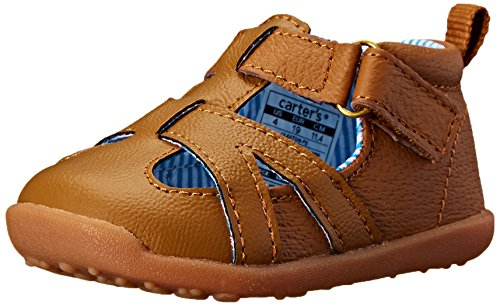 Carter's Every Step Claxton Stage 3 Walking Sandal (Toddler), Brown, 4.5 M US Toddler