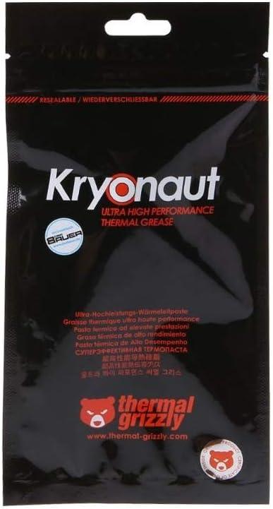 Thermal Grizzly オーバークロック用特別設計高性能熱伝導グリス Kryonaut