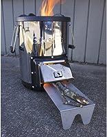 Amazon.com: silverfire Survivor Rocket Estufa: Sports & Outdoors