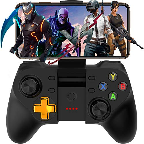 Mobile Game Controller, Megadream Wireless Key Mapping Gamepad Joystick Perfect for PUBG & Fotnite & More, Compatible for iOS Android iPhone iPad Samsung Galaxy Other Phone - No Simulator Needed
