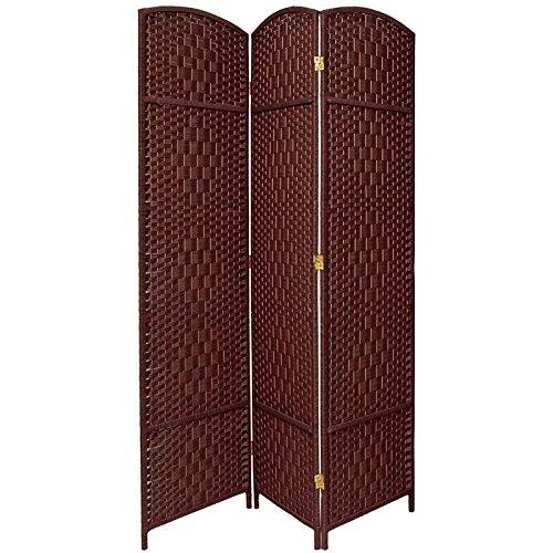 Amazoncom Oriental Furniture 7 ft Tall Diamond Weave Room Divider