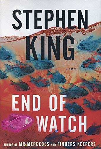 Stephen King Autographed Signed End of Watch Book - JSA Authentic