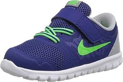 Amazon.com | Nike Flex Run Toddler Boys' Shoe (3, Blue