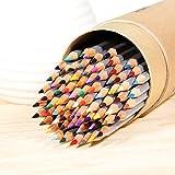 [Crayons de couleur ]Ohuhu® Nouveau Emballage 48-Couleurs Coloré Crayons Professionnel de Haute Qualité Art Dessin Crayons / Crayons de couleur pour Jardin secret Artiste Sketch, Ensemble de 48 Couleurs Cadeau de Noël
