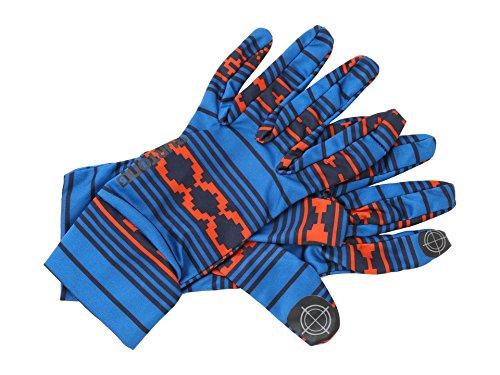 Glove Burton Womens Snowboard (Burton Women's WMNS Touchscreen Liner Raya Print MD/LG)