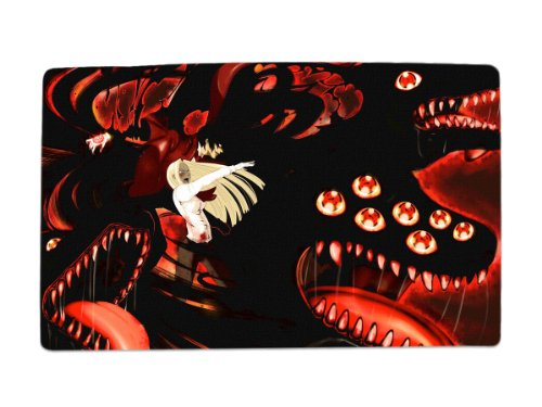 A Wide Variety of Hellsing Anime Characters Desk & Mouse Pad Table Play Mat (Alucard & Integra Hellsing)