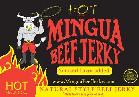Mingua Beef Jerky (Hot)