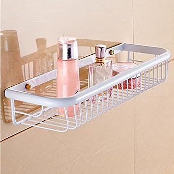 Jiuzhoucai Europaisch Stil Badezimmer Korb Weiss Viereckige