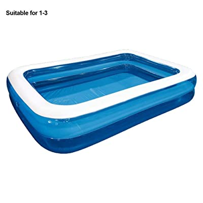 Sukaly Kiddie Pools Inflatable Pool Children's Inflatable Swimming Pool Household Baby Wear-Resistant Thick Marine Ball Pool Swim Center for Kids, Adults, Babies, Toddlers, Outdoor, Garden, Backyard: Home & Kitchen
