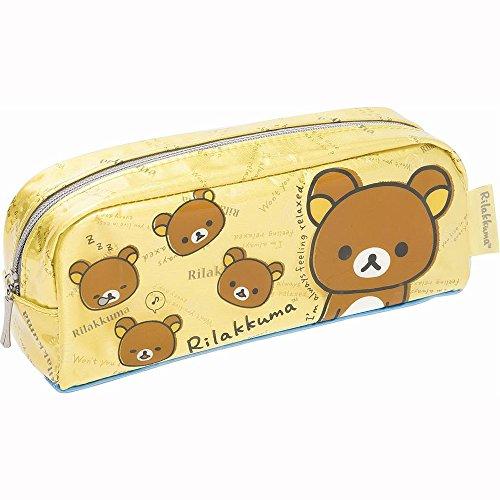 San-x Rilakkuma Pen Pouch Yellow (Rilakkuma School Supplies)