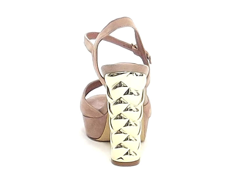 Barachini Scarpa Donna, 11280, Sandalo camoscio Rosa Nr 40 E8102