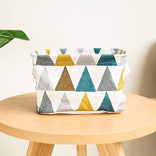 Storage Box,IEason Clearance Sale! Foldable Colors Storage Bin Closet Toy Box Container Organizer Fabric Basket (Blue)