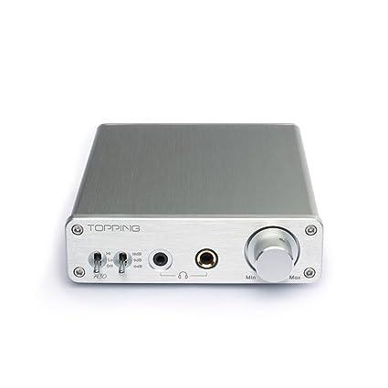 amazon com topping a30 hifi desktop headphone amplifier 3 5mm 6 35