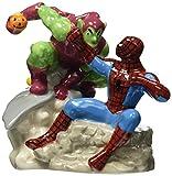 Westland Giftware Magnetic Ceramic Salt and Pepper Shaker Set, Spider-Man Vs. Green Goblin, Multicolor
