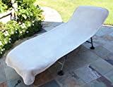 Luxury Hotel & Spa Towel 100% Genuine Turkish Cotton Chair Lounge Cover (BEIGE, Hotel-Style)