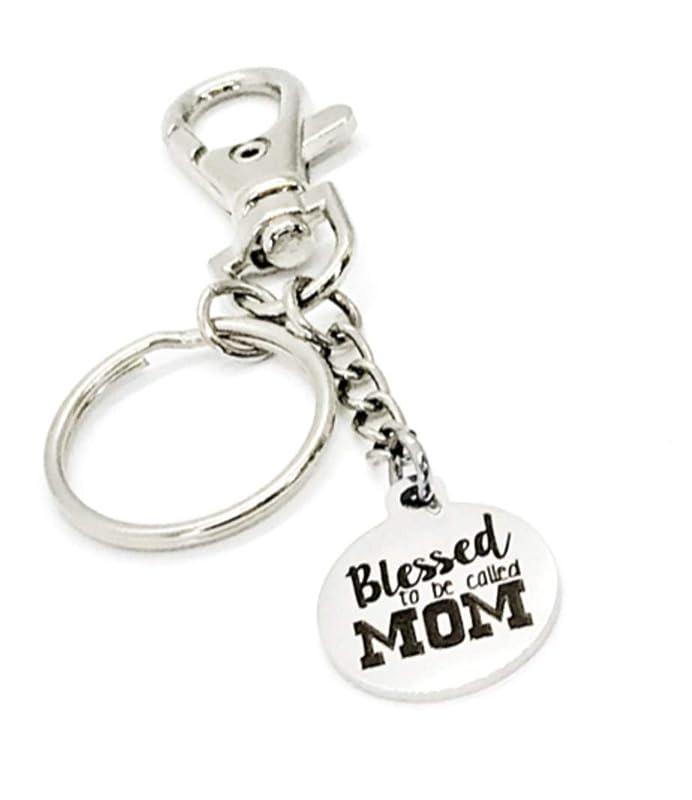 Mother Clucker mother F*cker gift for boyfriend Offensive keyring hand stamped keyring gift for him hand stamped offensive keyring
