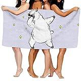 ZMLSJY Bath Towel Dance Like A Llama Large Bath Towel High Absorbency For Home Hotel Spa 30 X 56 Inches