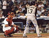 : NATE MCLOUTH PITTSBURGH PIRATES SIGNED AUTOGRAPHED AT BAT 8X10 PHOTO W/COA