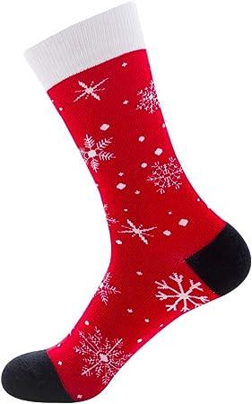 Ysoom Calcetines de Navidad para Mujer, Calcetines Divertidos ...