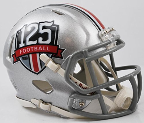 Ohio State Riddell Mini Helmet (Ohio State Buckeyes 125th Anniversary Riddell Mini Speed Football Helmet)
