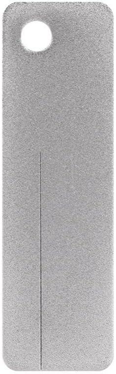 Taille-Crayon ext/érieur argent/é avec Mini rainure Keenso Taille-Crochet Taille-Crochet r/ésistant /à lusure de Diamant