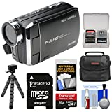 Bell & Howell DV30HD 1080p HD Video Camera Camcorder (Black) with 16GB Card