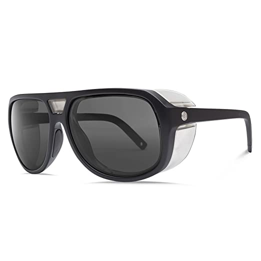 1ab287667fdf Amazon.com  Electric Visual Stacker Matte Black OHM+Polarized Grey ...
