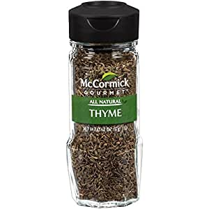 McCormick Gourmet Collection, Thyme Leaves, 0.62-Ounce (Packaging  May Vary)