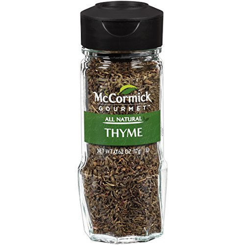 Nutmeg Leaf (McCormick Gourmet Collection, Thyme Leaves, 0.62-Ounce (Packaging  May Vary))
