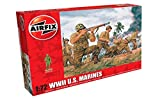 Airfix A00716 WWII US Marines Figures 1:72 Military Soldiers Plastic Model Kit