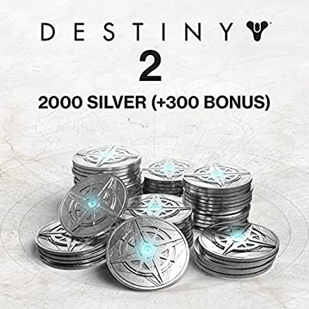 Destiny 2: 2000 (+300 Bonus) Destiny 2 Silver - PS4 [Digital Code]