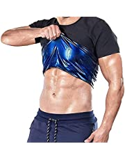 joyvio Neopren-tröja för män, viktad midjeträner för bastu - Bälten för bastutröja för träning