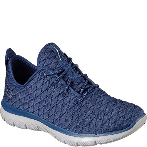 Skechers Frauen Flex Appeal 2.0 First Impression Sneaker Marine