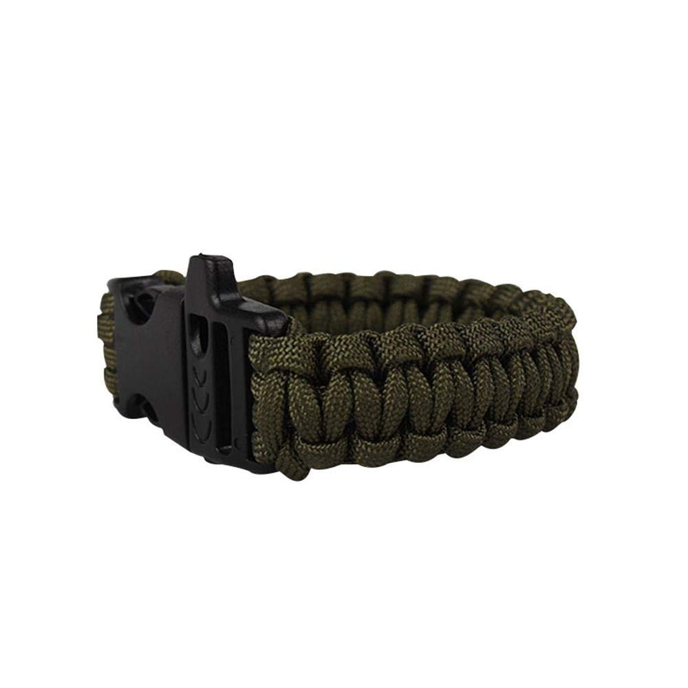 Paracord Survival Bracelet, Weaving Bracelet for Kids Boys Girls Adults, Kids Birthday Party Gifts, Survival Bracelet Camping Wristband for Hiking Camping Boating Emergency Outdoor Activities Leegoal