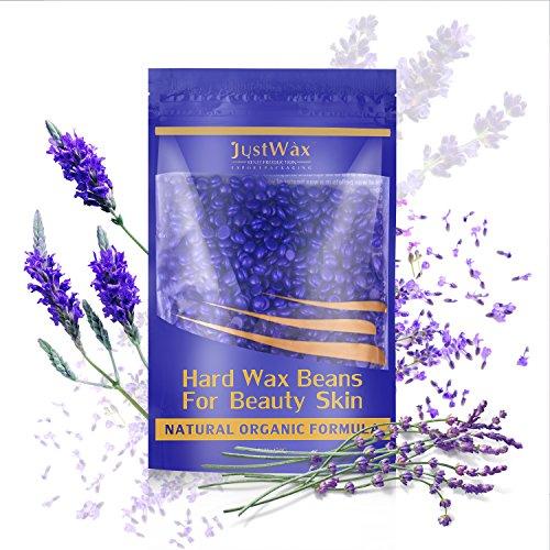 Fitnate-Beauty Hard Wax Beans Hair Removal Painless Wax Warmer Waxing Beans Natural Pearl Depilatory for Women Men 250g/8.8oz ()