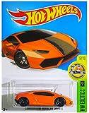 Hot Wheels, 2016 HW Exotics, Lamborghini Huracan LP610-4 [Orange] Die-Cast Vehicle #76/250