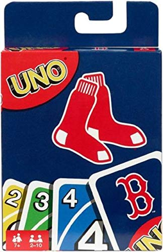 Red Uno - Mattel NULLFYY35 Uno Boston Red Sox, Brown
