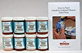 Duncan INKIT-5 Envision Glaze Kit for Ceramics - Set of 8 Best Selling Colors in 4 Ounce Jars with Free How to Paint Ceramics Booklet